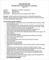 how to write a cover letter for a receptionist job cover letter