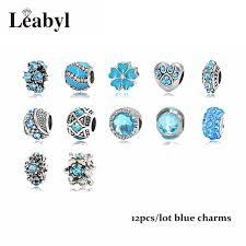 pandora style bracelet diy images Mix style pink blue green crystal beads fit pandora bracelet jpg