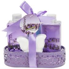 bathroom gift basket ideas amazon com lavender bath and gift basket lotion