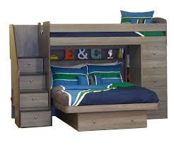 Build A Bear Bunk Bed Twin Over Full by Twin Over Full Space Saver With Chest And Stairs Bedroom