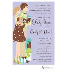 couples baby shower wording surprising coed ba shower invitation