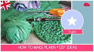 tutorial how to recycle plastic bags making plarn plastic yarn