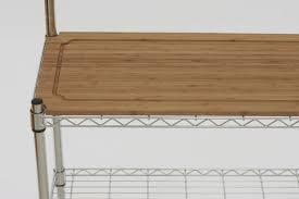 Overstock Bakers Rack Amazon Com Trinity Ecostorage Bamboo Baker U0027s Rack Home U0026 Kitchen