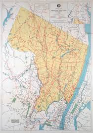 Back Road Maps Historical Bergen County New Jersey Maps