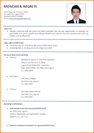 Resume Templates Australia Download Resume In English Resume Format Download Pdf English Resume