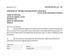 Certification Letter Template Sle Sle Certification Letter For Payment 28 Images Pending Payment