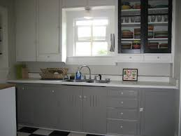 Gray Color Kitchen Cabinets by Grey Cabinets Dovetail By Sherwin Williams Via Swash A