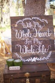diy wedding signs 20 wedding signs we intimate weddings small wedding