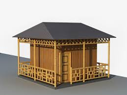 Native House Design Modern Bamboo Houses Interior And Exterior Designs