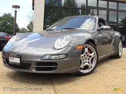 porsche carrera 2008 2008 porsche 911 carrera 4s coupe in meteor grey metallic 732139