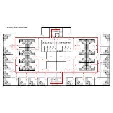 Evacuation Floor Plan Template Building Evacuation Plan 1