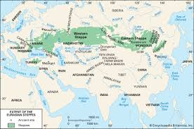 Location Of The Ottoman Empire by The Steppe The Era Of Turkish Predominance 550 1200