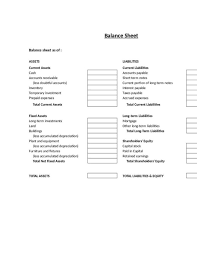 Monthly Balance Sheet Template Monthly Balance Sheet Template Haisume
