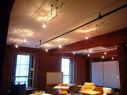 install cable track lighting in a suspended ceiling u2014 home