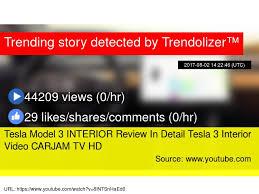 tesla model 3 interior review in detail tesla 3 interior video