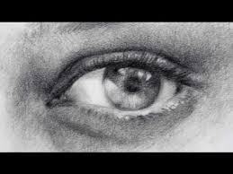 how to draw realistic eyes pencil shading exercise sketches