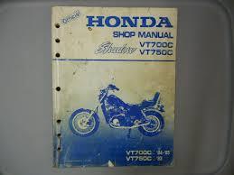 honda factory service manual 1984 1985 vt700c 1983 vt750c u2022 49 99