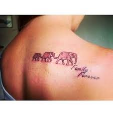 family forever elephant tattoos to die for