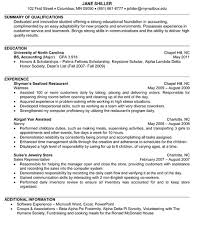 resume for accountant accountant resume sample and tips resume