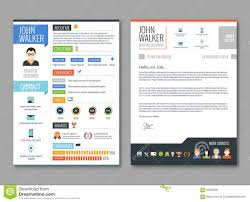 Free Pages Resume Templates Resume Cv Template Stock Vector Image 66334561