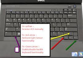 how to turn on keyboard light dell dell backlit keyboard ambient light sensor onarol s t chlog