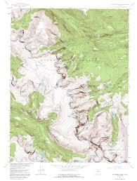 Usgs Quad Maps Lake Haiyaha Colorado