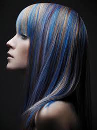blue hair extensions bilderesultat for hair extensions blue hår farger hair colors