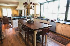 oak kitchen island with seating rembun co