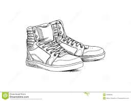 sketch shoes royalty free stock photo image 29886665