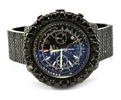 breitling bentley motors breitling for bentley motors t steel men u0027s watch on custom black