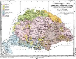 Hungary Map Europe by 1885 Ethnographic Map Of The Lands Of The Crown Of Saint Stephen