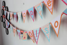 Nautical Themed Baby Shower Banner - nautical themed baby shower the d spot