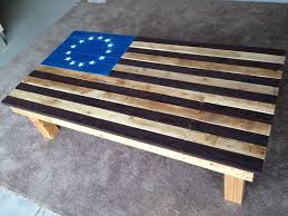 Betsy Ross Flags American Flag Coffee Table Pallet Furniture 9 Steps With Pictures