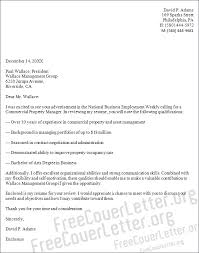 Sample Resume For Property Manager by Property Manager Cover Letter Sample
