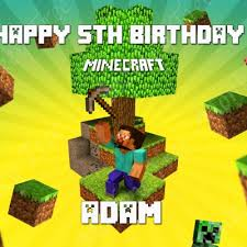minecraft edible cake topper edible cake images m to s the monkey tree