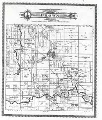 Michigan Township Map by Manistee 1903 Standard Atlas Maps