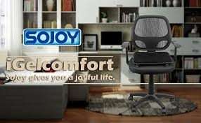 Gel Office Chair Cushion Amazon Com Sojoy Igelcomfort Enhanced Gel Multi Use Gel Seat