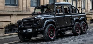 land rover kahn project kahn land rover defender flying huntsman 6x6 pickup imboldn