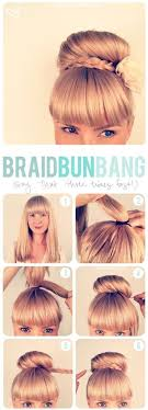 cool step by step hairstyles super easy step by step hairstyle ideas fashionsy com