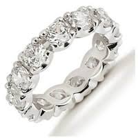 women wedding bands 534205pp platinum diamond eternity band