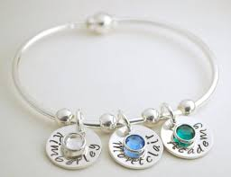 custom necklace charms buy a made personalized bangle bracelet with name charms and