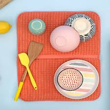 microfibre deluxe dish drying mats by bambury at queenb