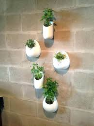 wall herb planters large size of herb planter wall herb garden