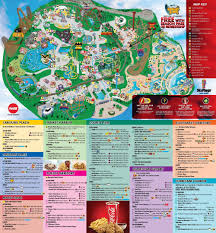 Six Flags In Usa Six Flags Map Usa World Maps