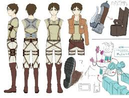 design attack could the uniforms and equipment seen in attack on titan work in
