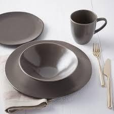scape dinnerware set latte west elm