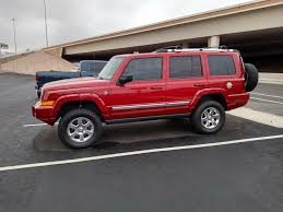 commander jeep lifted lift kit and new tires jeep commander forums jeep commander forum