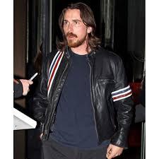 biker jacket christian bale jacket black leather biker jacket