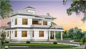 1990 square feet 4 bhk house elevation design newbrough