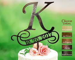b cake topper letter k cake topper cake toppers for wedding letter wedding